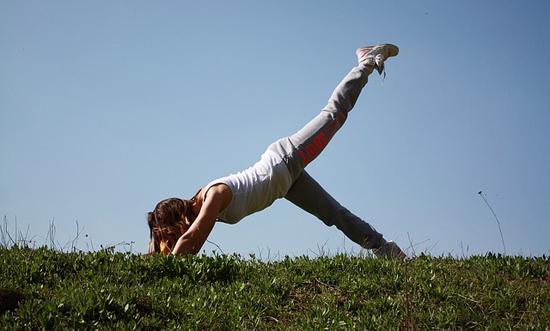 Rychlé hubnutí cvičením Pillates