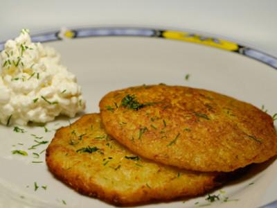 Dietní fitness bramboráky bez smažení