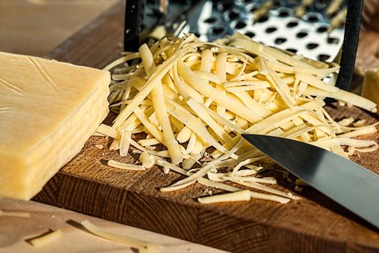 (Ne)smažený sýr z mikrovlnky