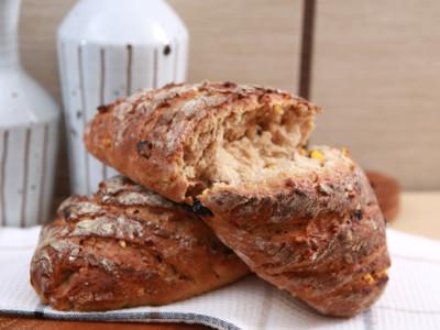 VIP ořechový celozrný chléb pro Michala Davida