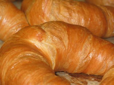 Domácí nugátové croissanty