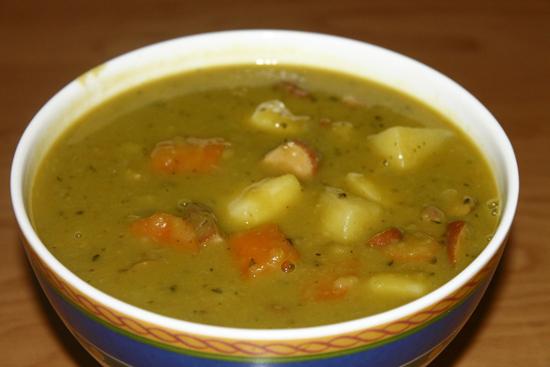 Hrachová (hrášková) polévka