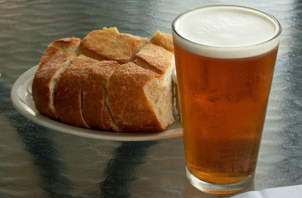 Bramborovo-pivní chléb