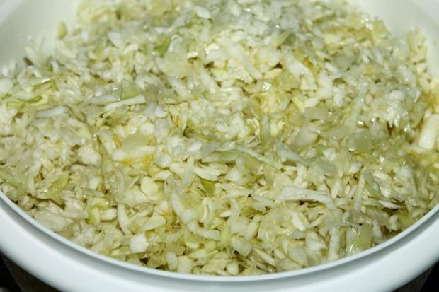 Sterilované cuketové zelí