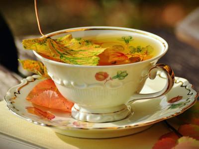 Pečený hruškový čaj